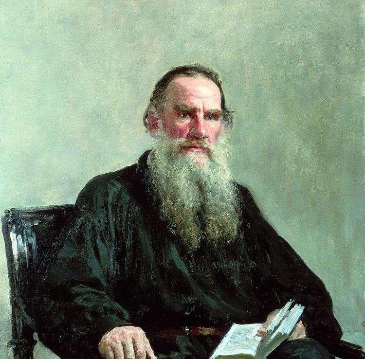 Портрет Л. Н. Толстого   Илья Репин