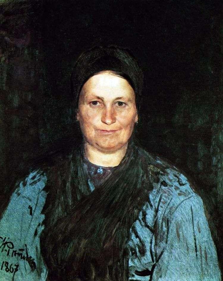 Портрет матери   Илья Репин