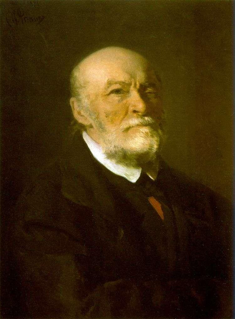 Портрет Н. И. Пирогова   Илья Репин