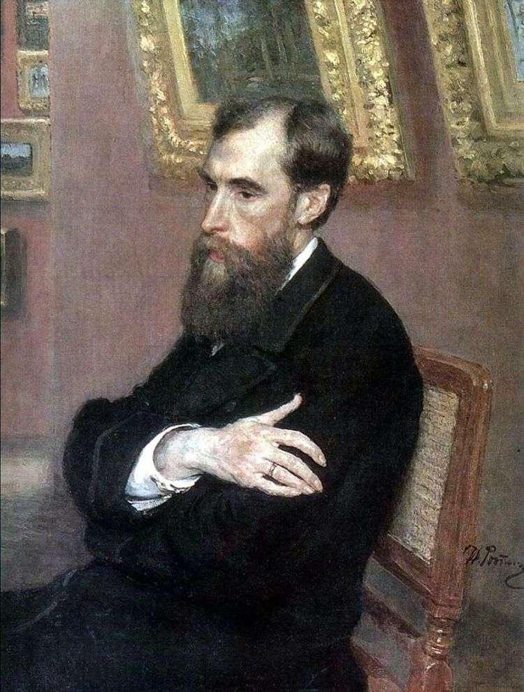 Портрет П. М. Третьякова   Илья Репин