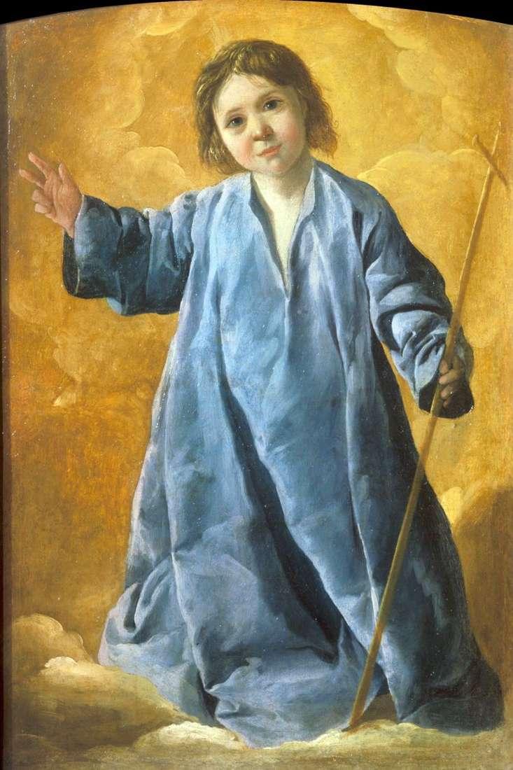 Младенец Христос   Франсиско де Сурбаран