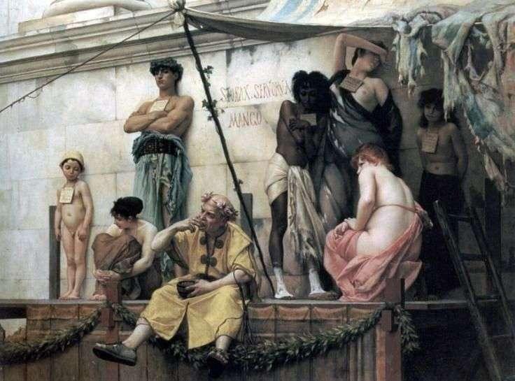 Рынок рабов   Густав Рудольф Буланже