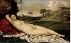 Спящая Венера   Джорджоне