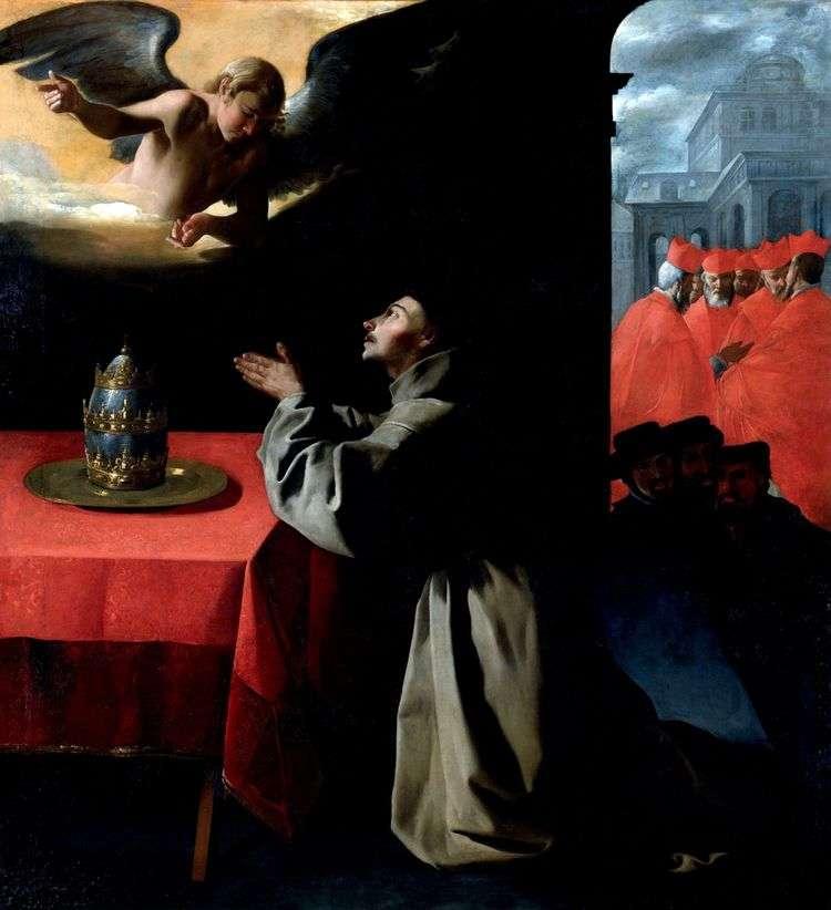 Молитва Святого Бонавентуры   Франсиско де Сурбаран
