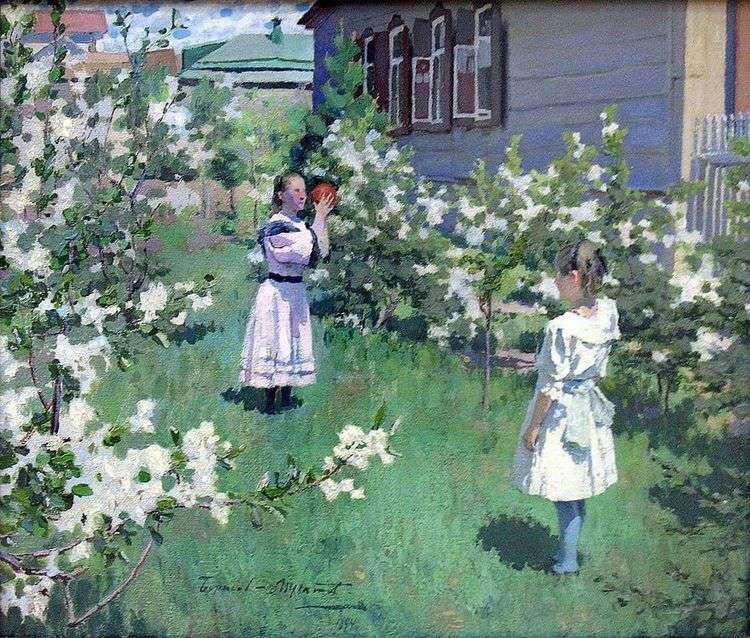 Майские цветы   Виктор Борисов Мусатов