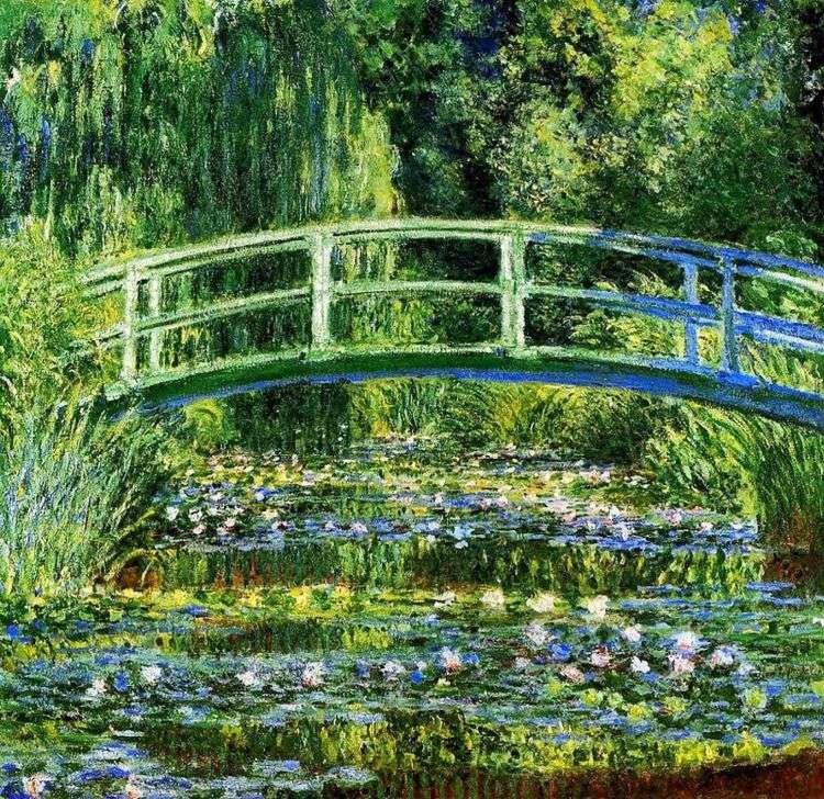 Водный сад   Клод Моне