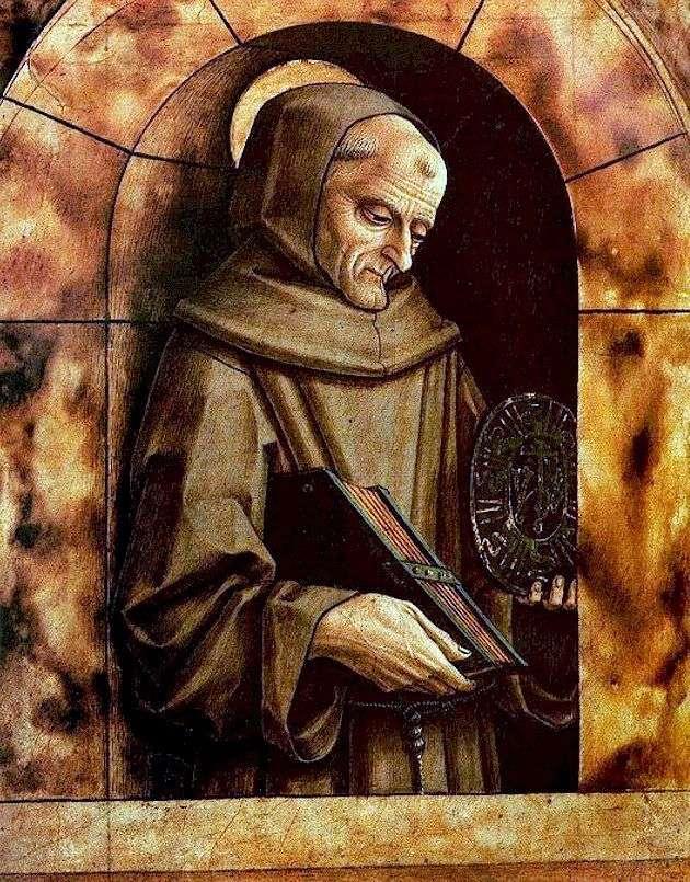 Святой Бернардин Сиенский   Карло Кривелли