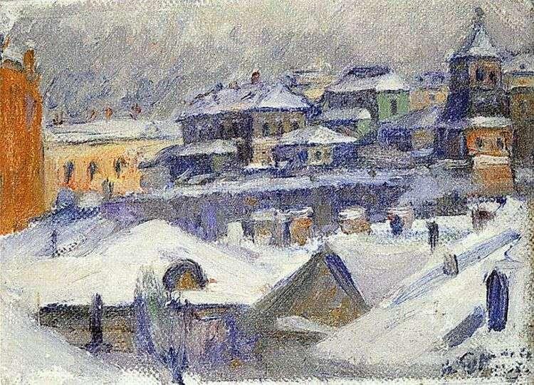 Вид Москвы   Василий Суриков