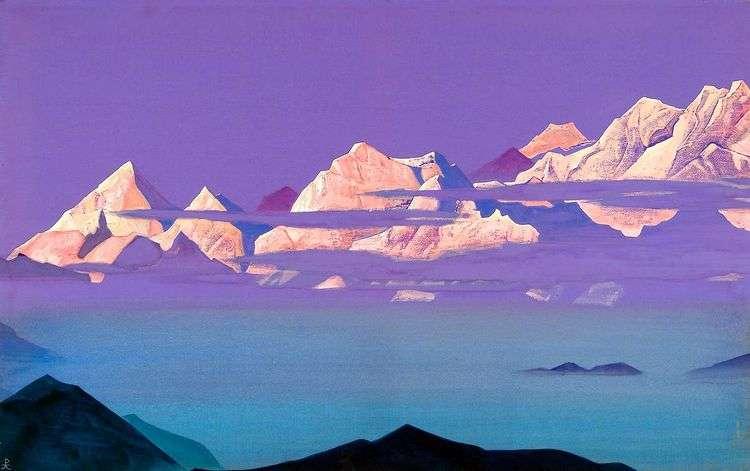 Гималаи. Розовые горы   Николай Рерих