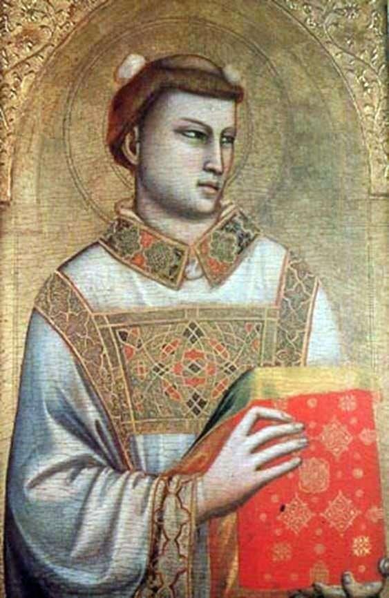 Образ святого Стефана   Джотто