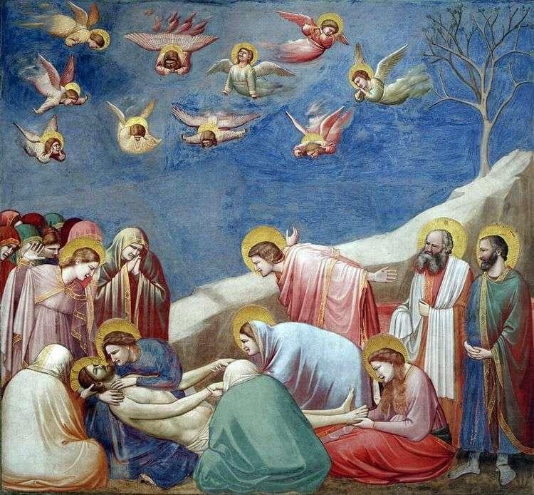 Оплакивание Христа   Джотто