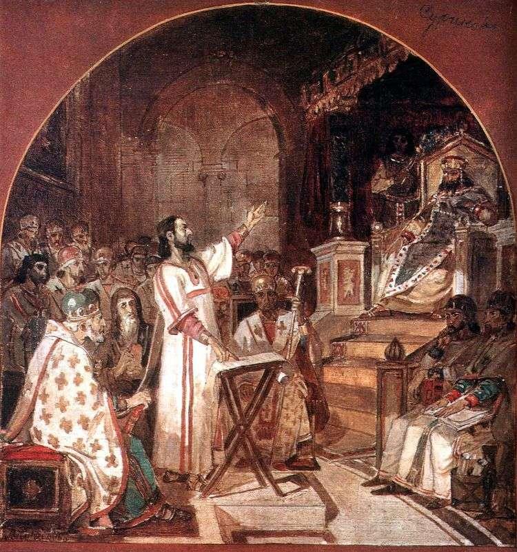 Первый Вселенский Никейский собор   Василий Суриков