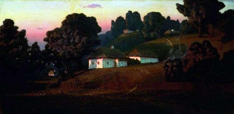 Вечер на Украине   Архип Куинджи