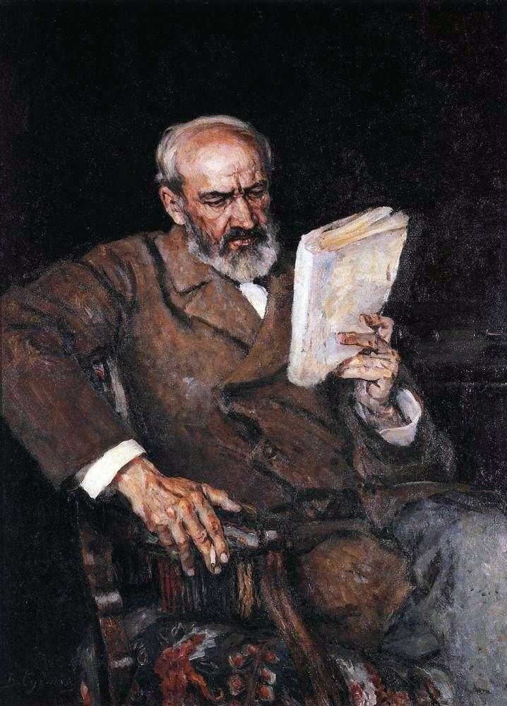 Портрет доктора А. Е. Езерского   Василий Суриков