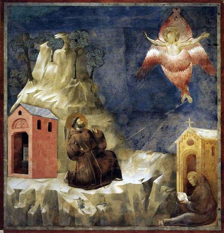 Стигматизация святого Франциска   Джотто