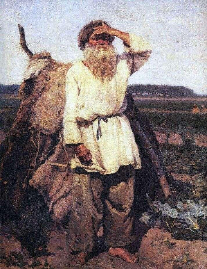 Старик огородник   Василий Суриков