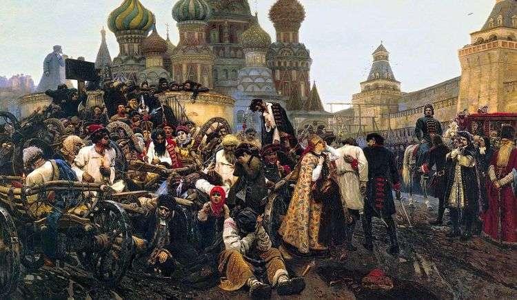 Утро стрелецкой казни   Василий Суриков