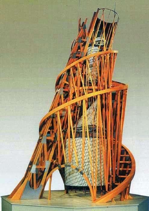 Башня. Модель памятника III Интернационалу   Владимир Татлин