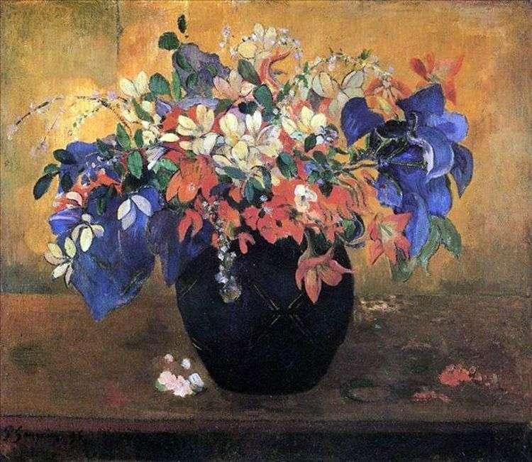 Букет цветов   Поль Гоген