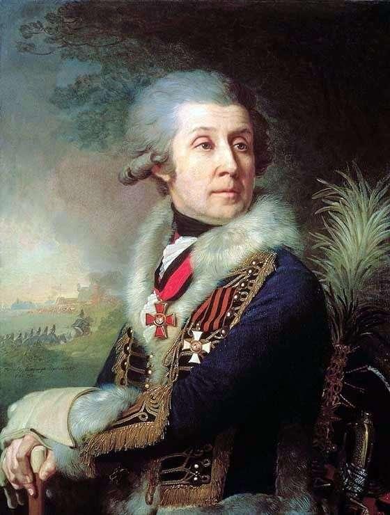 Портрет Ф. А. Боровского   Владимир Боровиковский