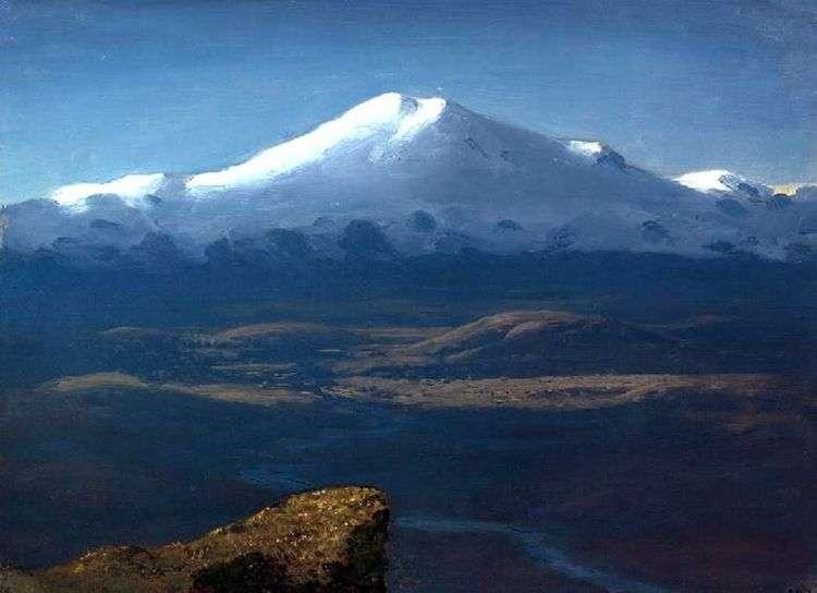 Снежные вершины   Архип Куинджи