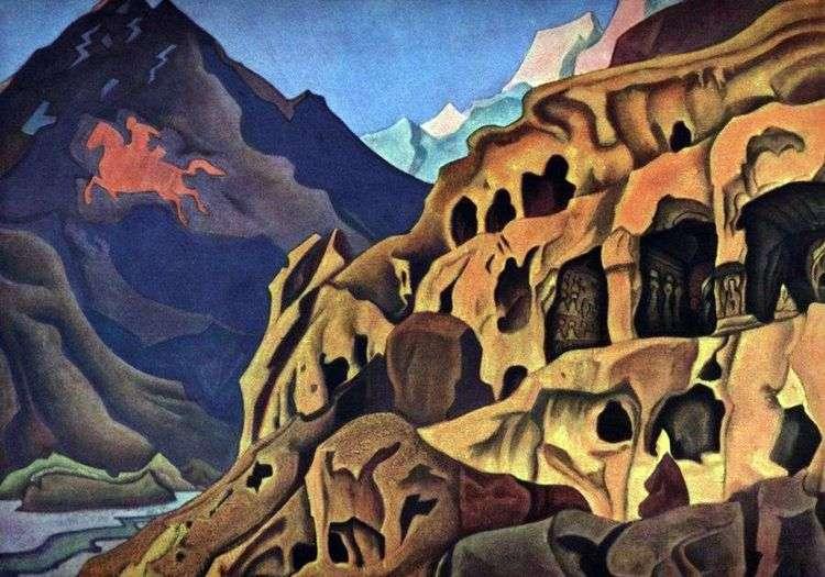 Мощь пещер   Николай Рерих