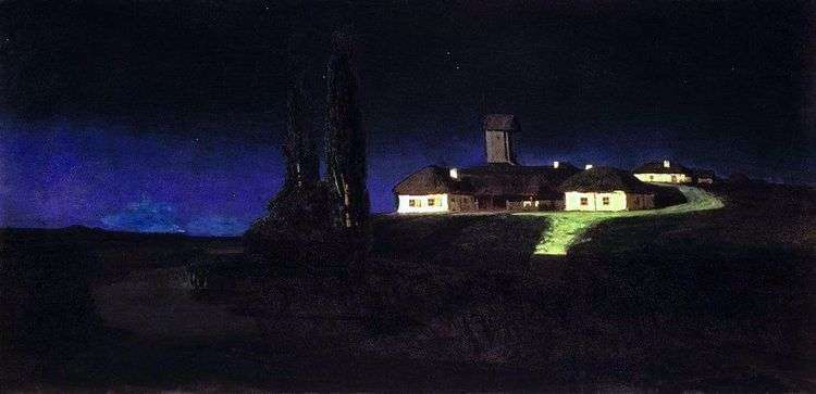 Украинская ночь   Архип Куинджи