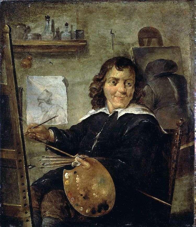 Живописец в своей мастерской   Давид Тенирс