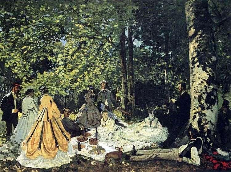 Пикник на траве, Шайи   Клод Моне