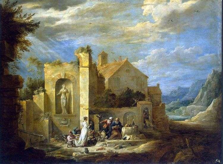 Искушение святого Антония   Давид Тенирс