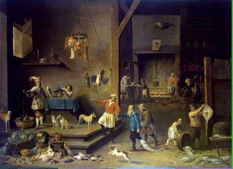 Кухня   Давид Тенирс
