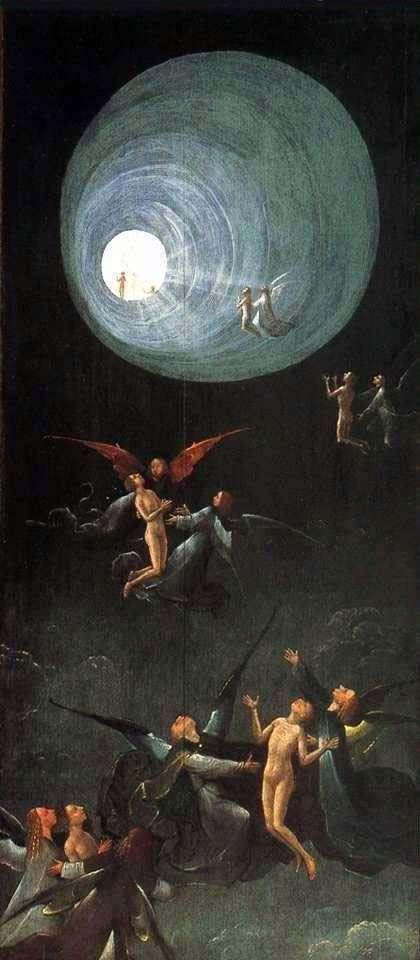 Вознесение в Эмпирей, Видения загробного мира. Часть алтаря   Иероним Босх