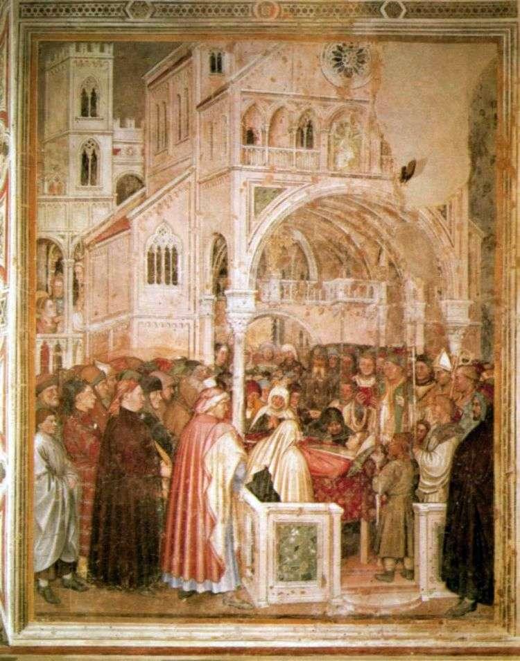 Святая Лючия на смертном одре. 1379 84   Альтикьеро да Дзевио