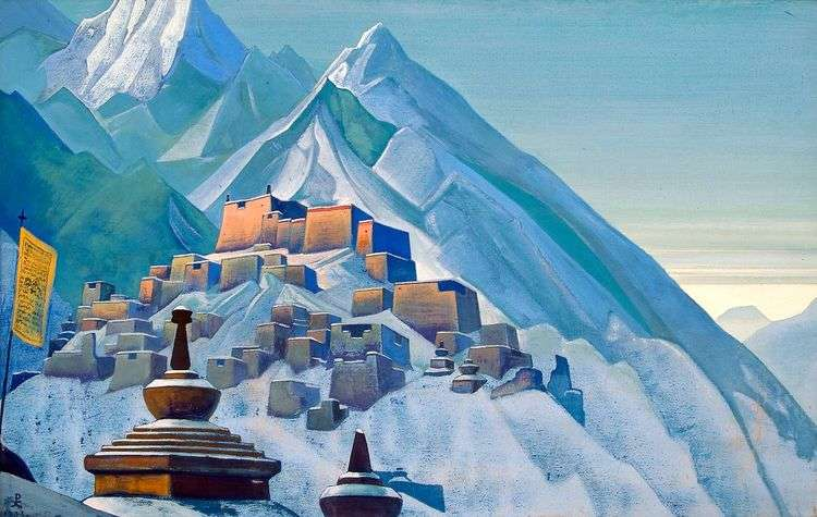 Тибет. Гималаи   Николай Рерих