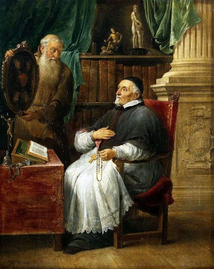 Портрет епископа Антония Триста и его брата Евгения   Давид Тенирс