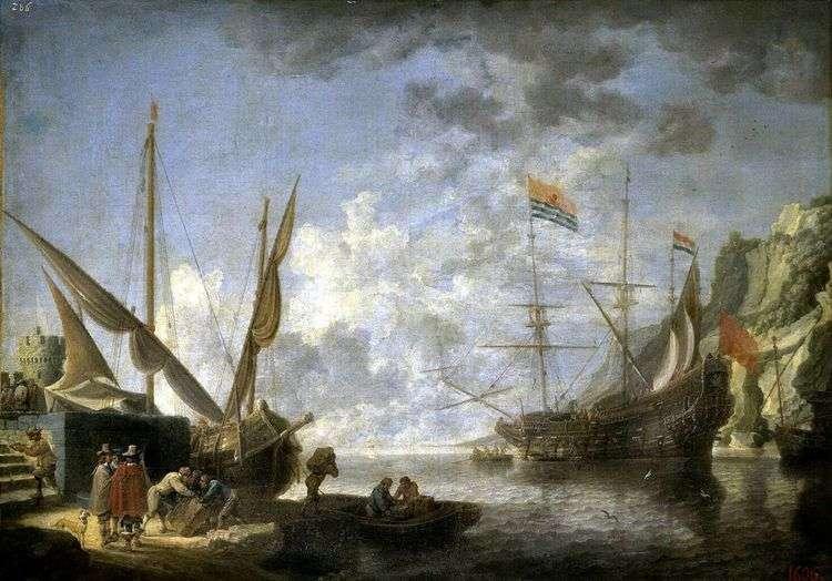 Приморская гавань   Давид Тенирс