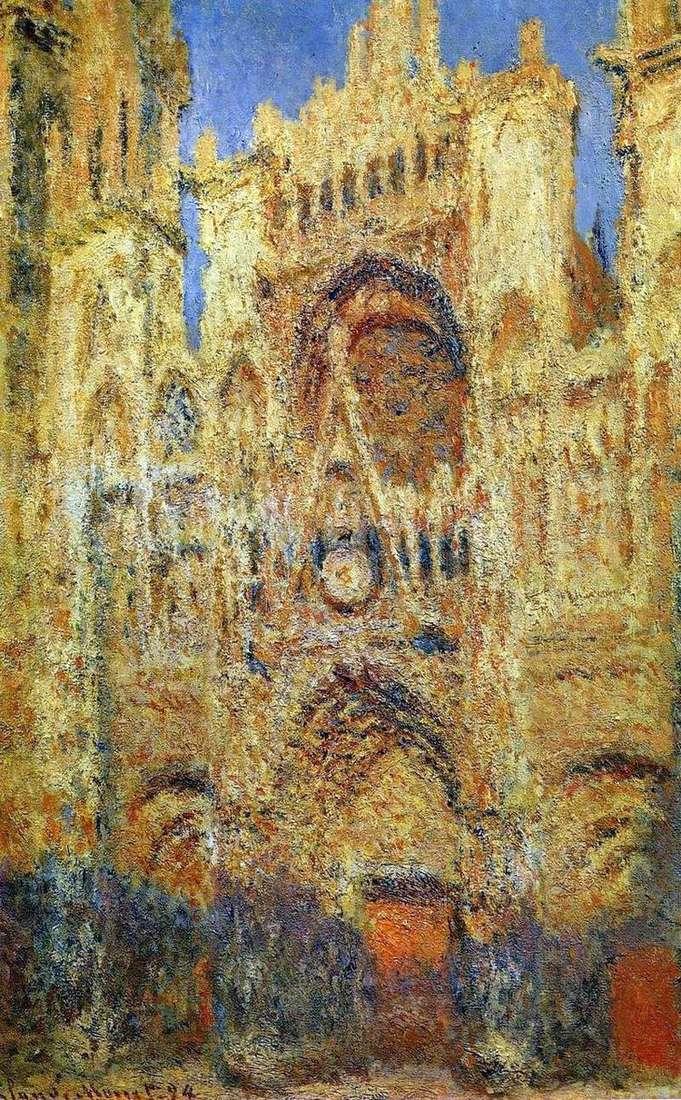 Руанский собор   Клод Моне
