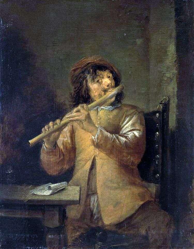 Флейтист   Давид Тенирс