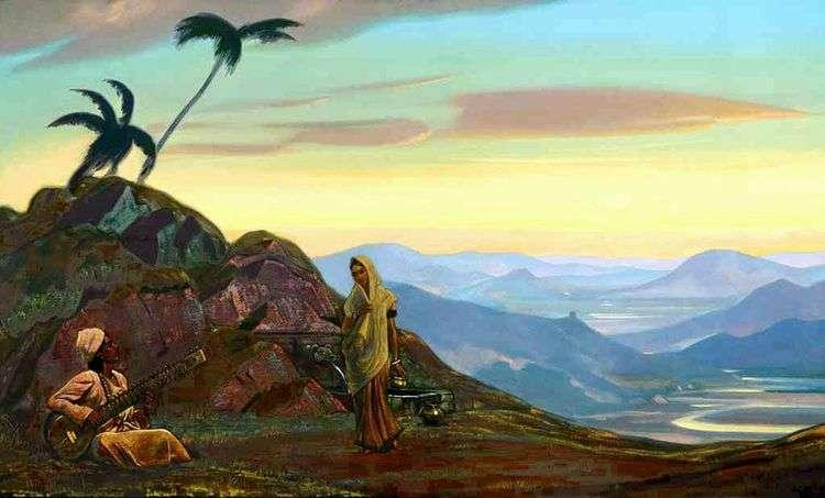 Индия   Святослав Рерих