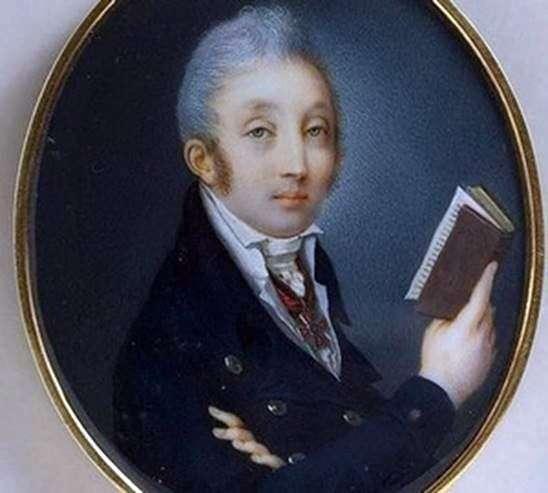 Портрет графа М. М. Сперанского   П. А. Иванов