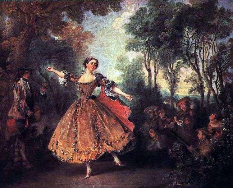 Танцовщица Камарго   Никола Ланкре