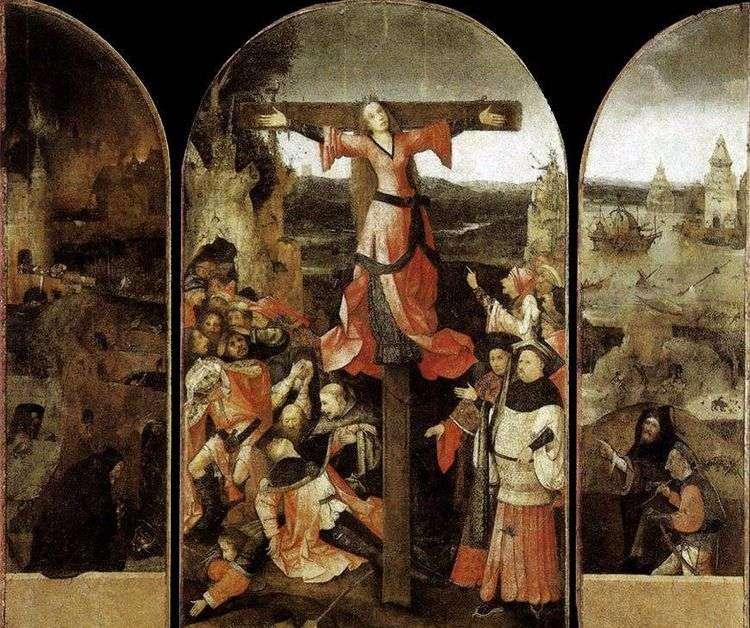 Мученичество святой Либераты. Триптих   Иероним Босх