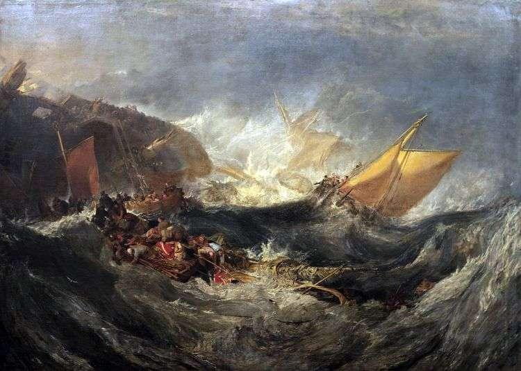 Гибель транспортного судна   Уильям Тернер