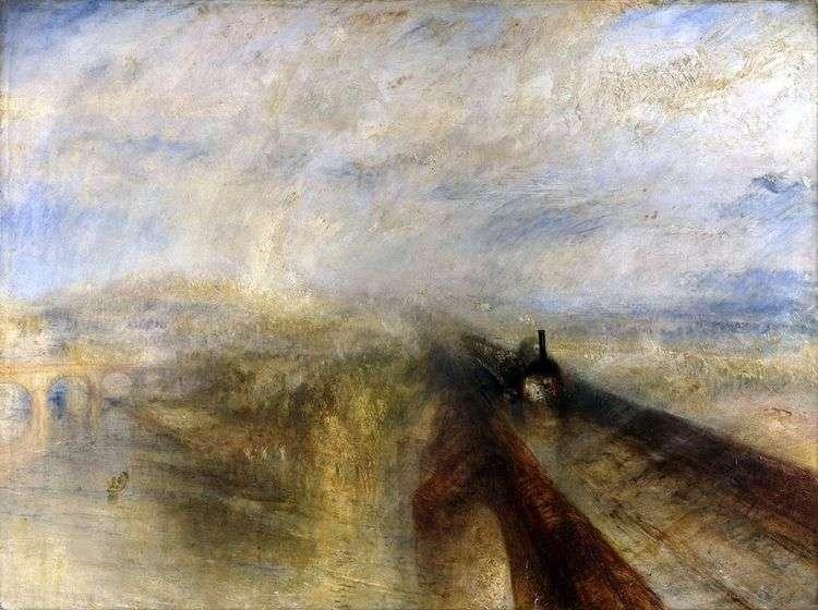 Дождь, пар и скорость. Большая Западная Железная дорога   Уильям Тернер
