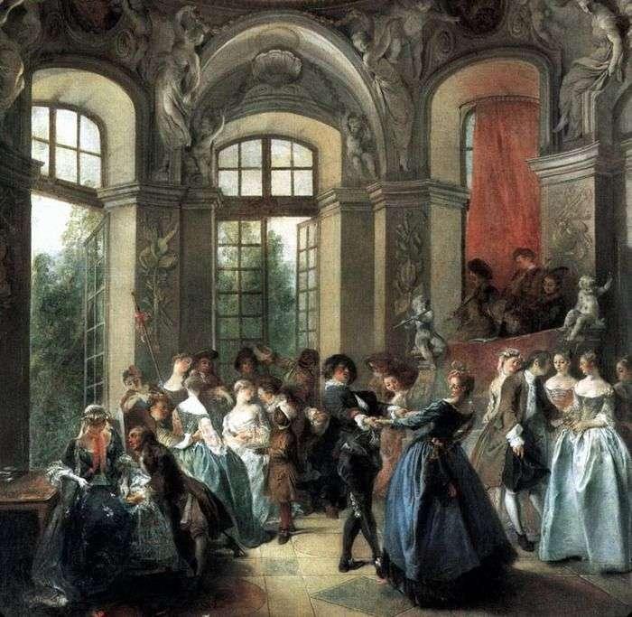 Танцы в павильоне   Никола Ланкре