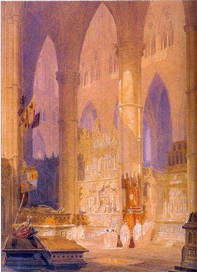 Кафедральный собор в Кане   Уильям Тернер