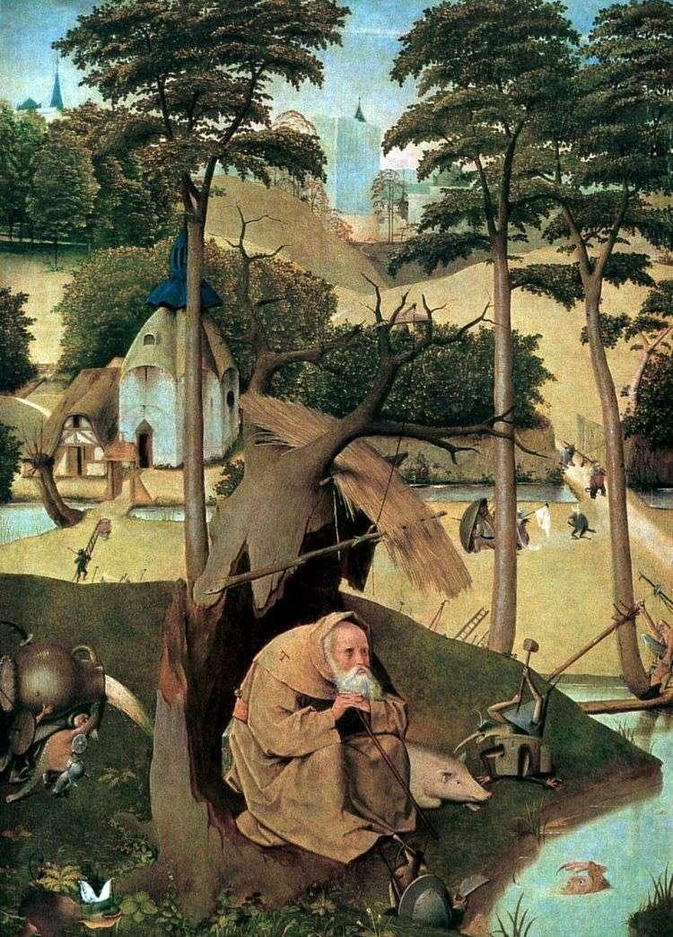 Святой Антоний   Иероним Босх