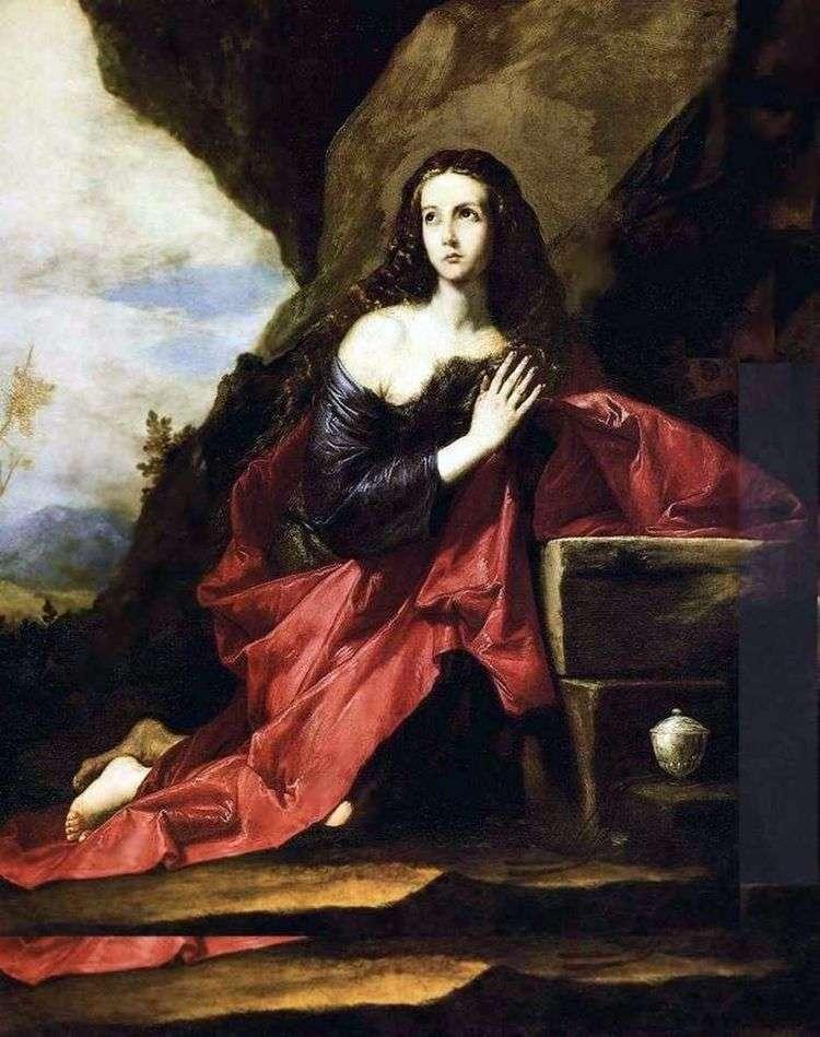 Кающаяся Мария Магдалина   Хусепе де Рибера