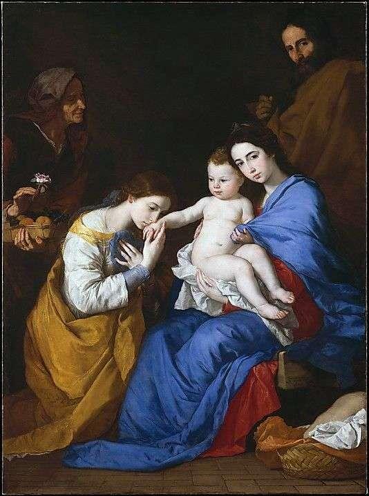 Мистическое обручение св. Екатерины Александрийской   Хусепе де Рибера