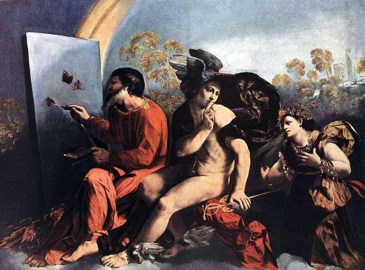 Юпитер, Меркурий и Добродетель   Досси Доссо